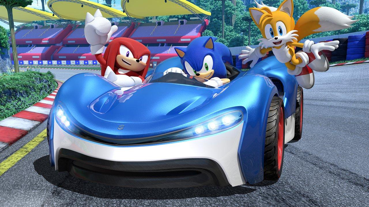 Dnes vychází Team Sonic Racing