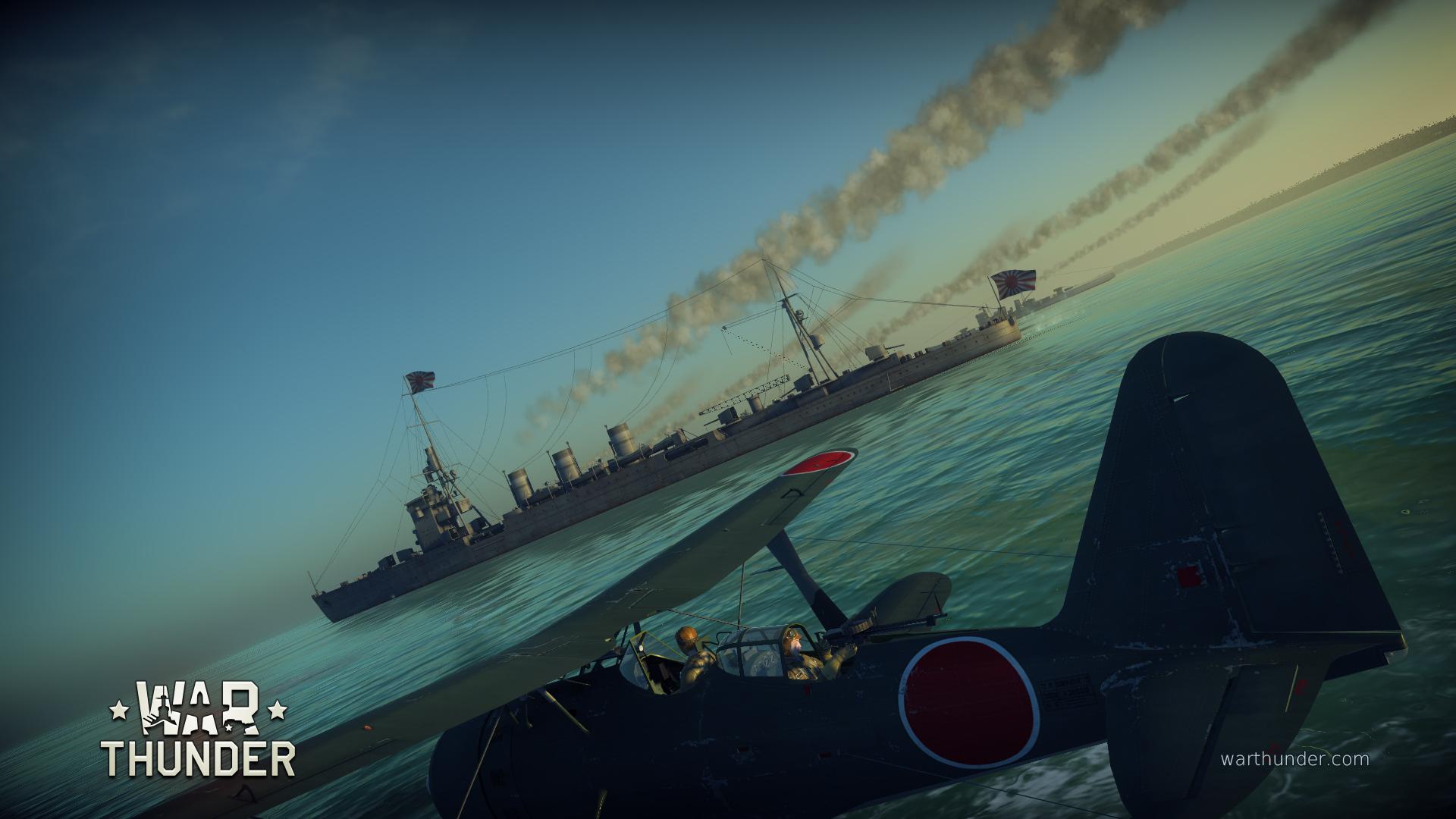 Japonské císařské námořnictvo míří do War Thunder