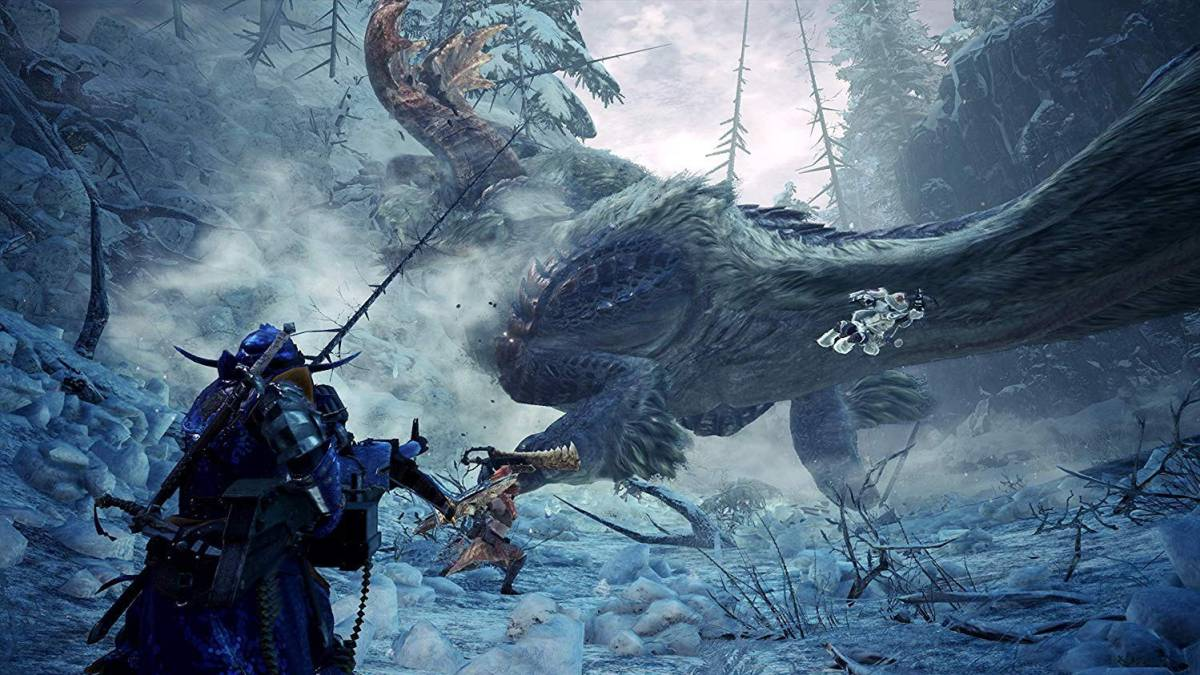 Tento týden odstartuje PS4 beta Monster Hunter World: Iceborne