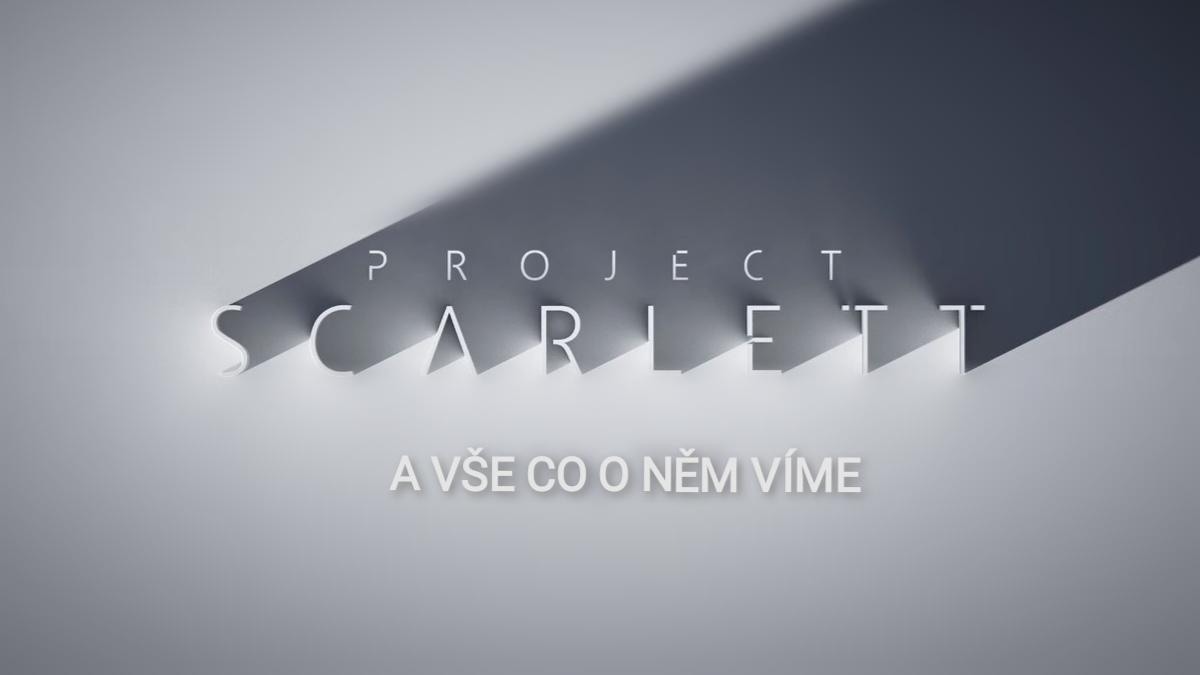Xbox Project Scarlett a vše co o něm víme