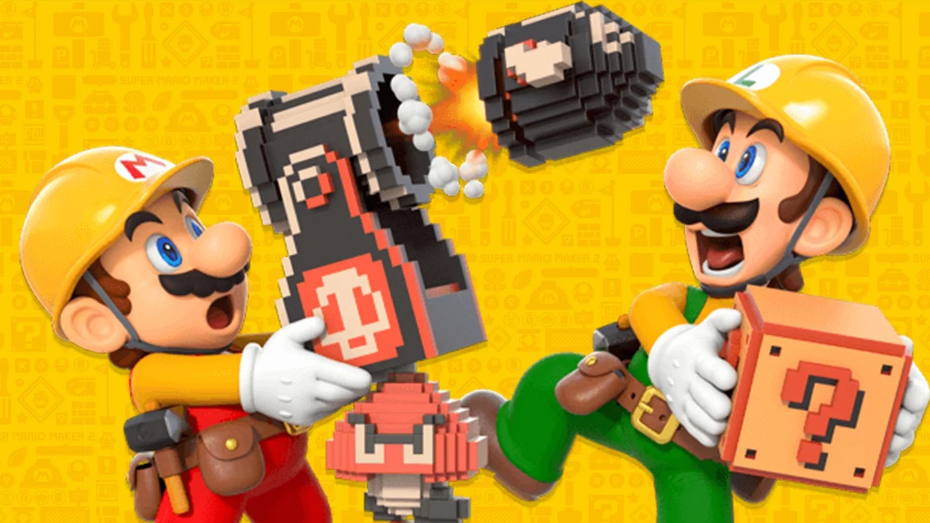 Update umožní hrát Super Mario Maker 2 s kamarády