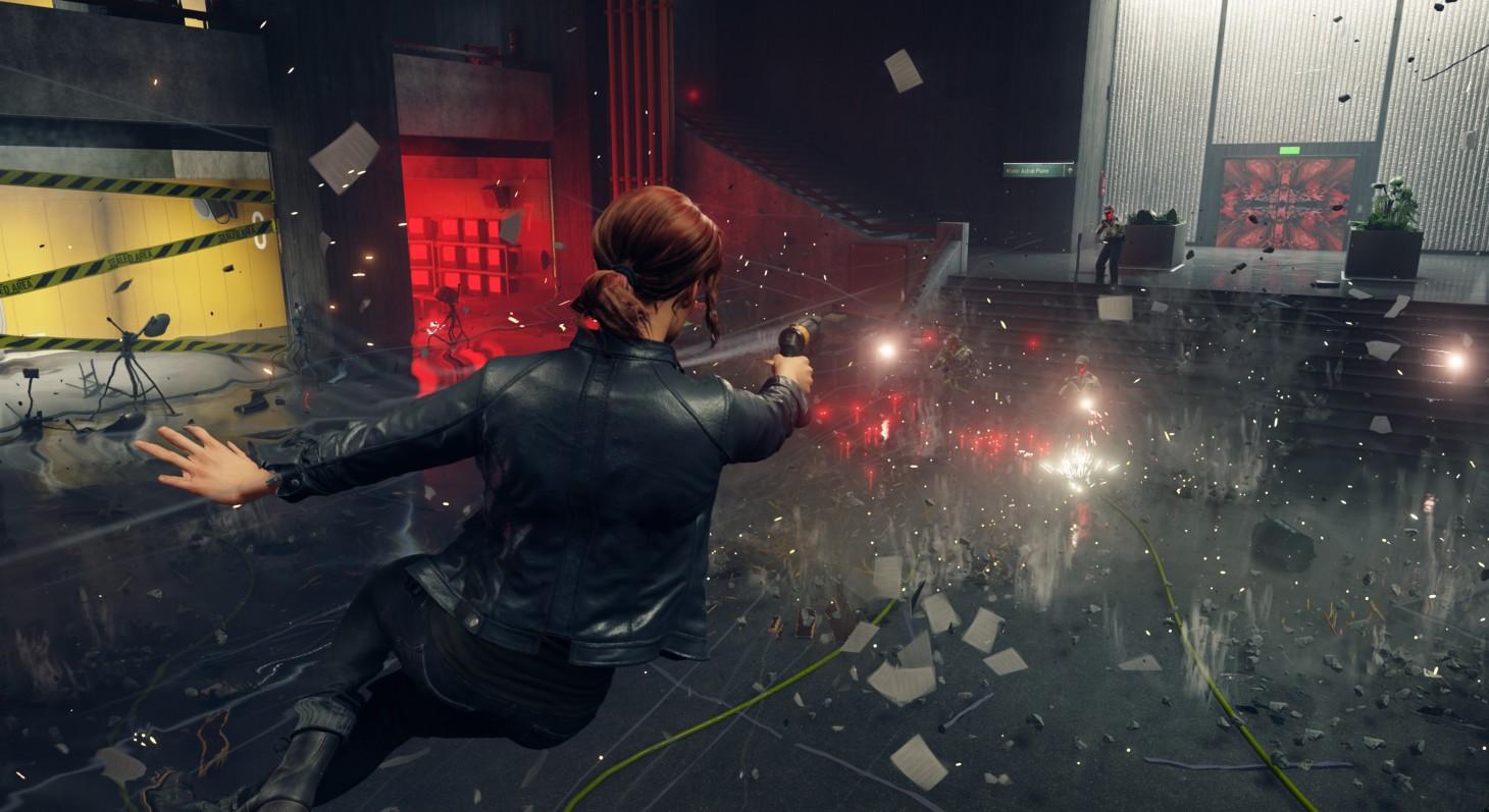 Control v nových gameplay záběrech