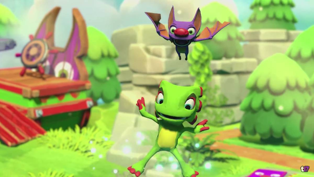 Yooka-Laylee and the Impossible Lair v gameplay traileru
