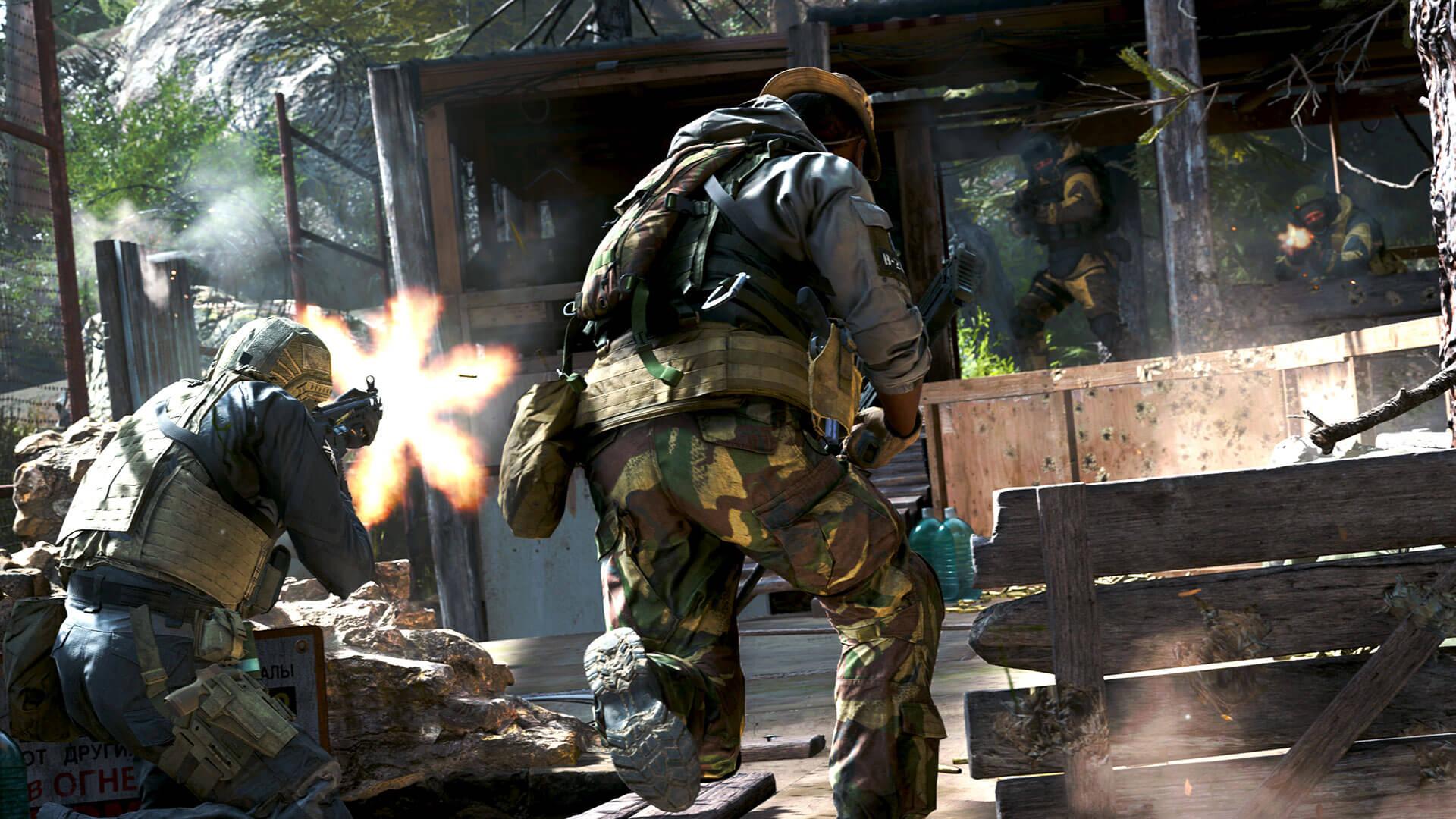 Call of Duty Modern Warfare představuje nový režim 2v2 Gunfight