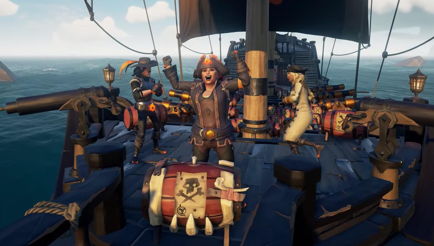 Vyšel nový update pro Sea of Thieves s novými questy