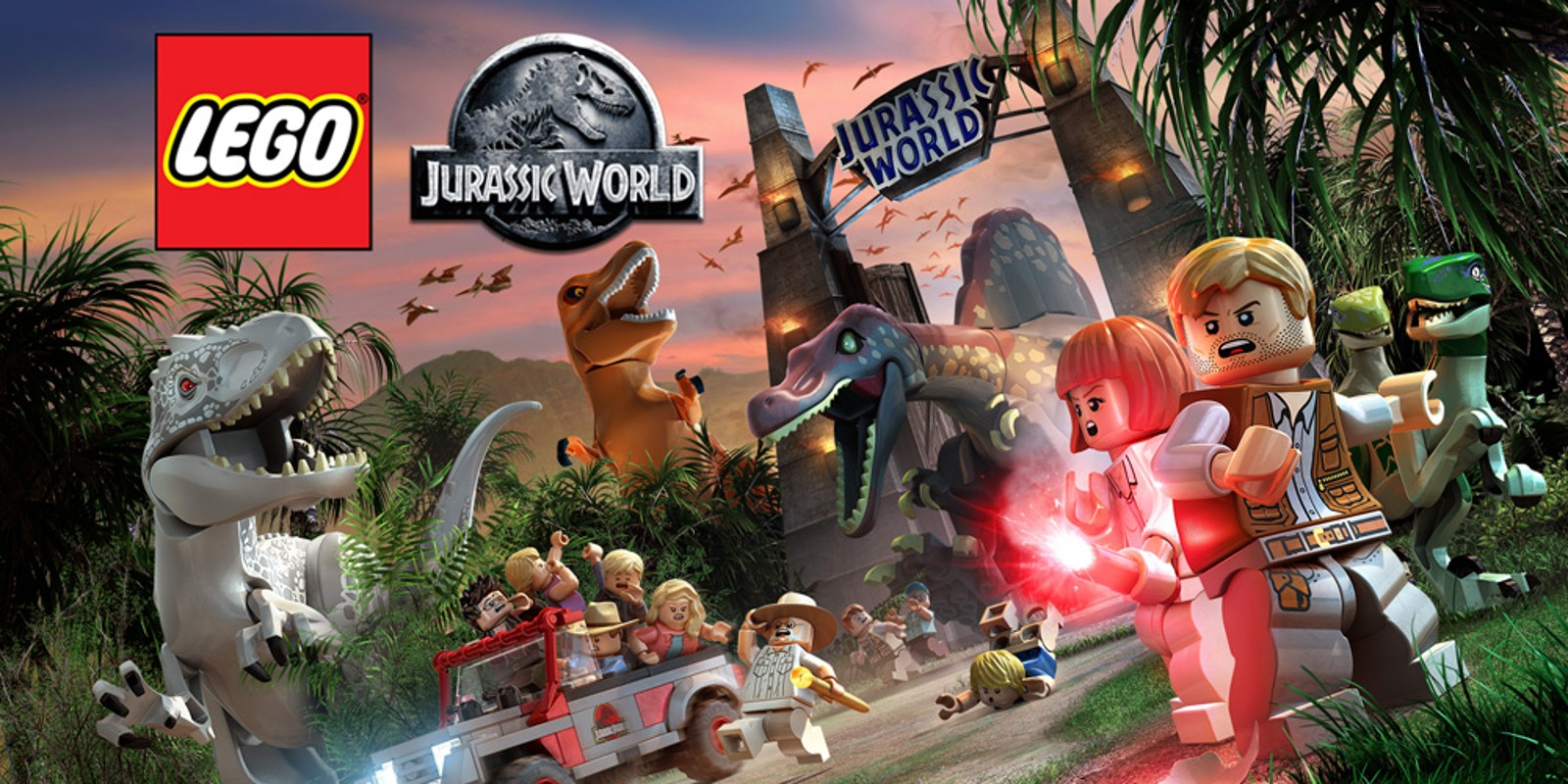 LEGO Jurassic World se podívá na Nintendo Switch