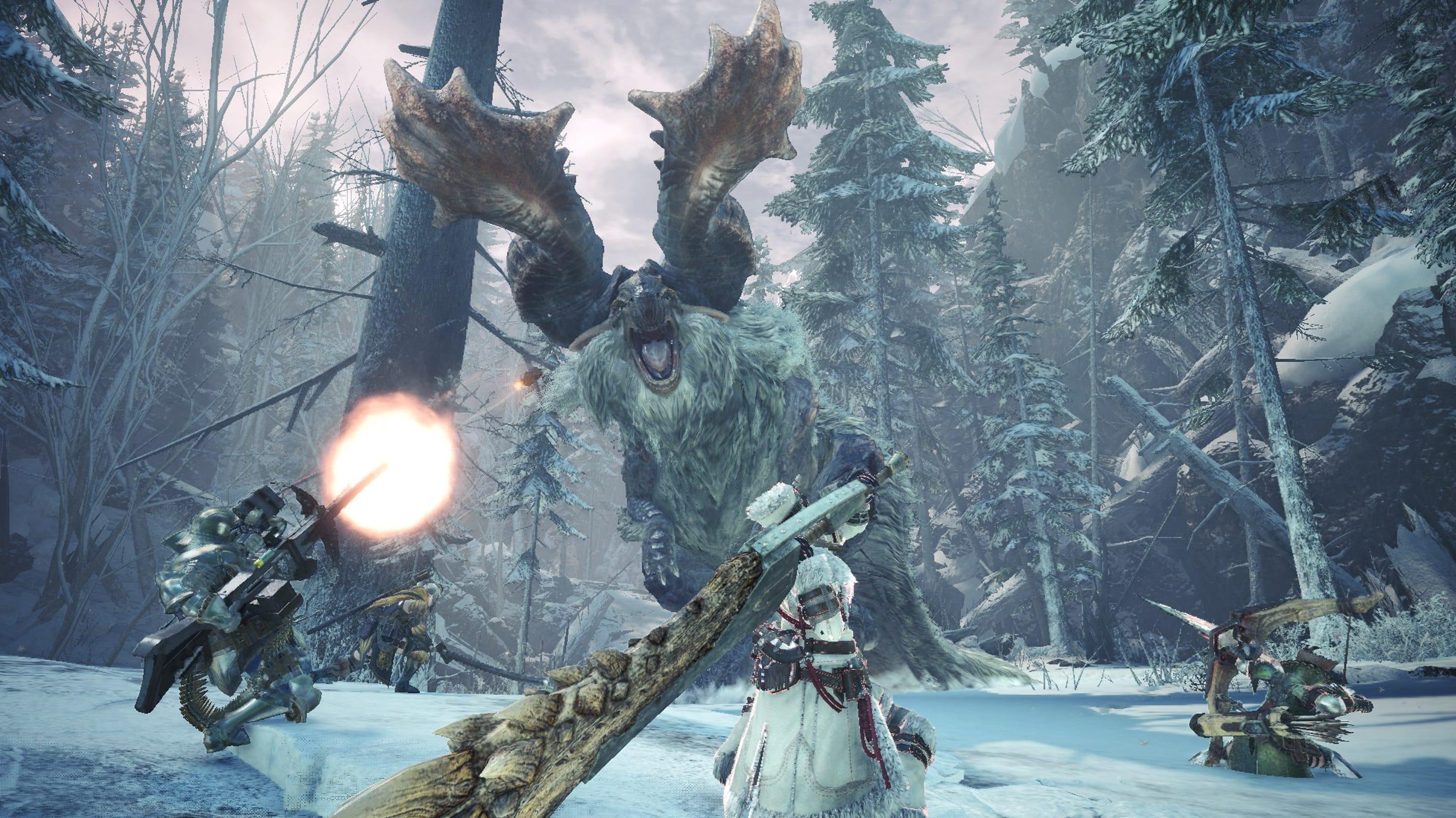 Iceborne je posledním rozšířením pro Monster Hunter World