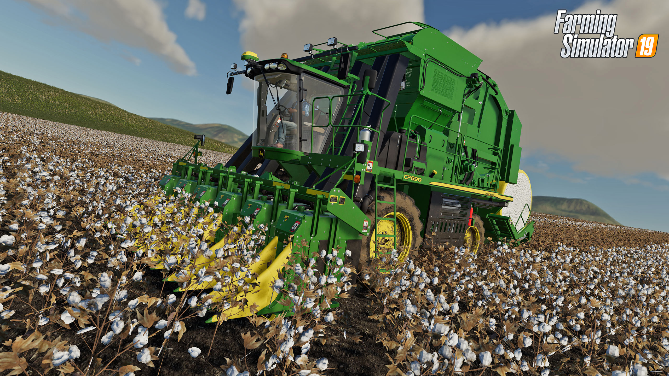 Oznámeno DLC John Deere Cotton pro Farming Simulator 19