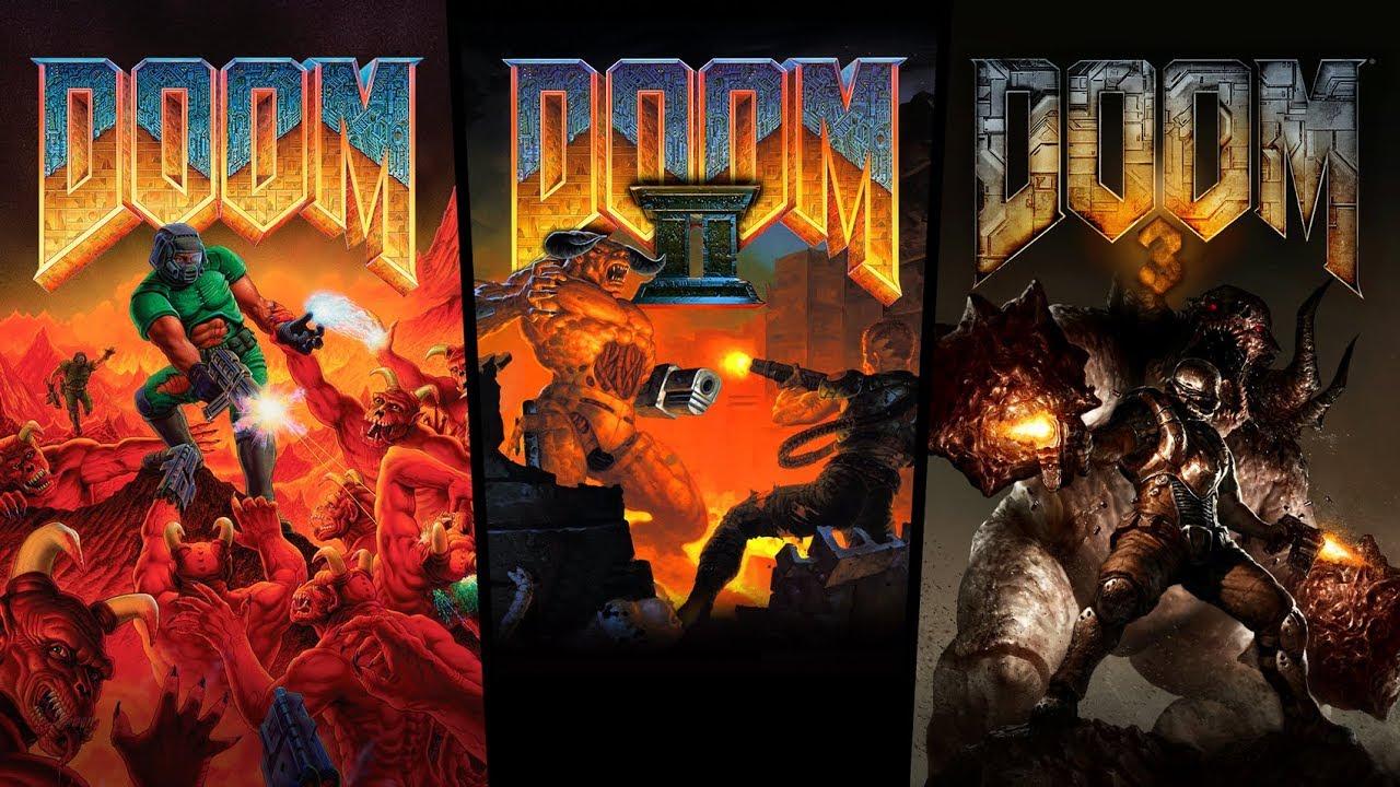 DOOM 1,2 a 3 vyšli na Xbox One, PS4 a Switch