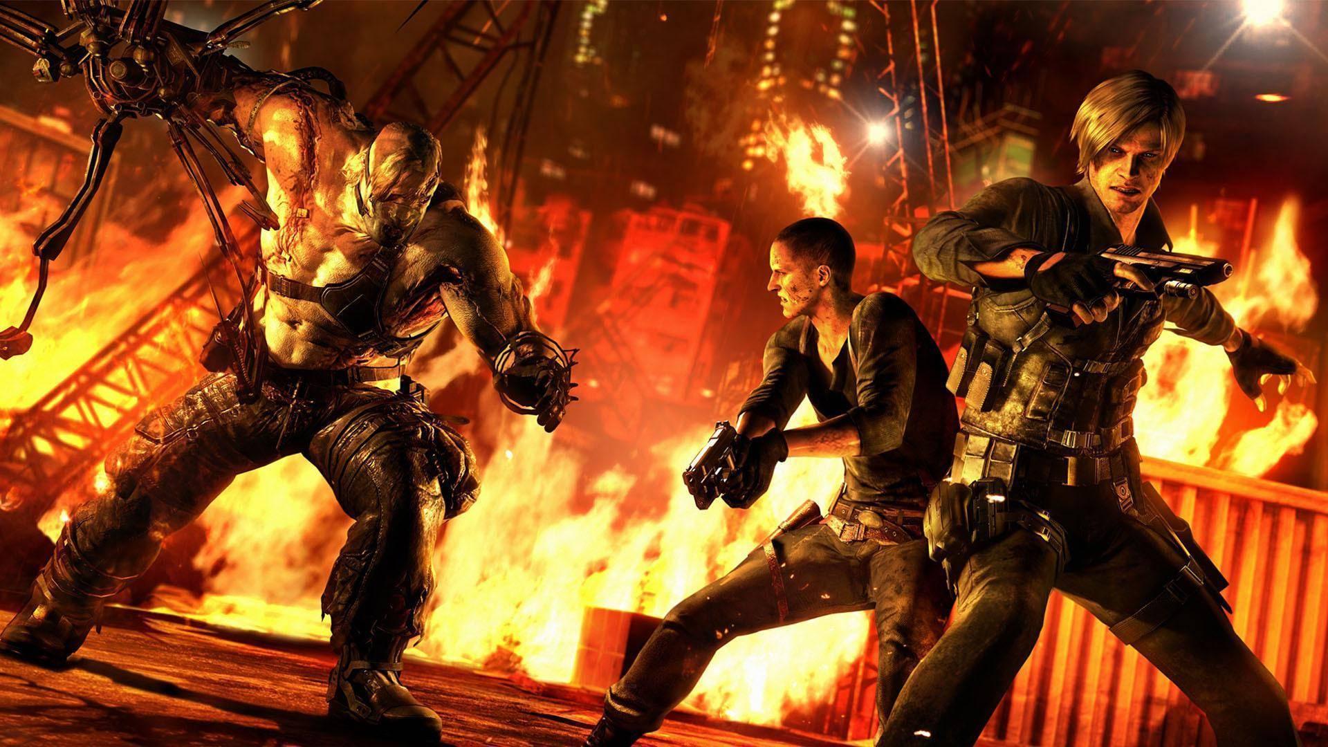 V říjnu vyjde Resident Evil 5 a 6 na Switchi