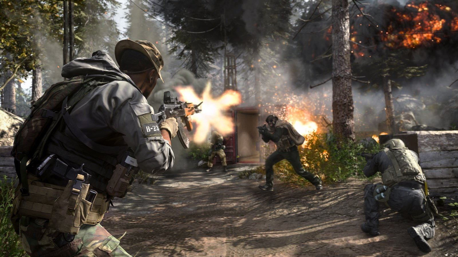 Call of Duty: Modern Warfare v multiplayerovém traileru + termíny Beta testů