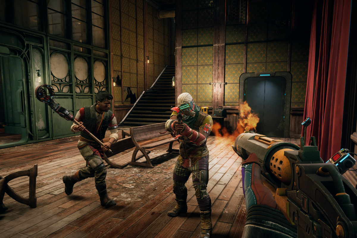 The Outer Worlds v řadě gameplay záběrů