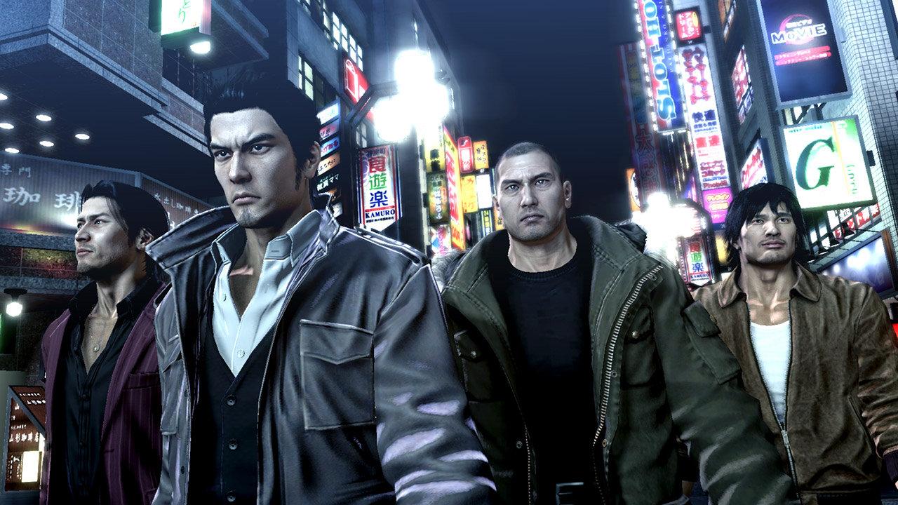 Remastery Yakuza 3 – 5 oznámeny pro západní trh