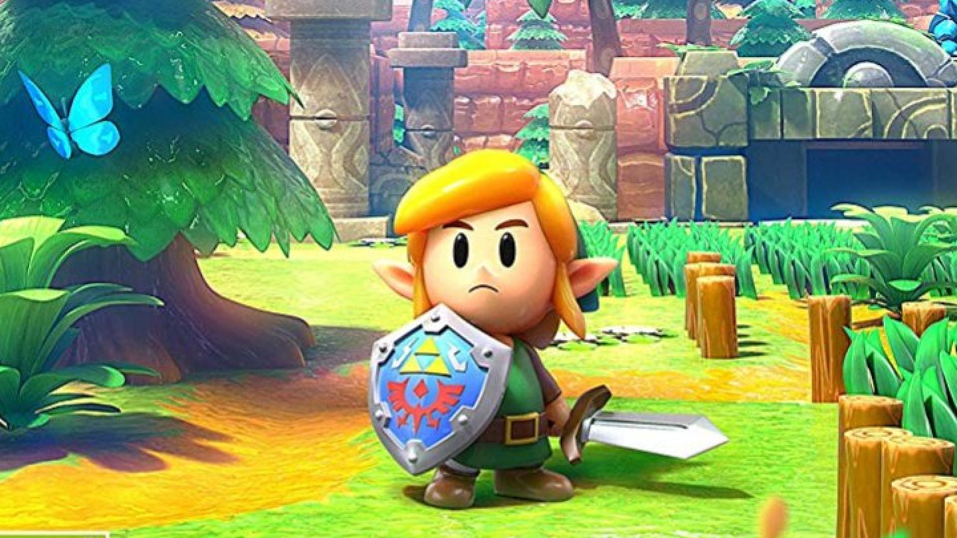 The Legend of Zelda: Link's Awakening se připomíná v novém traileru