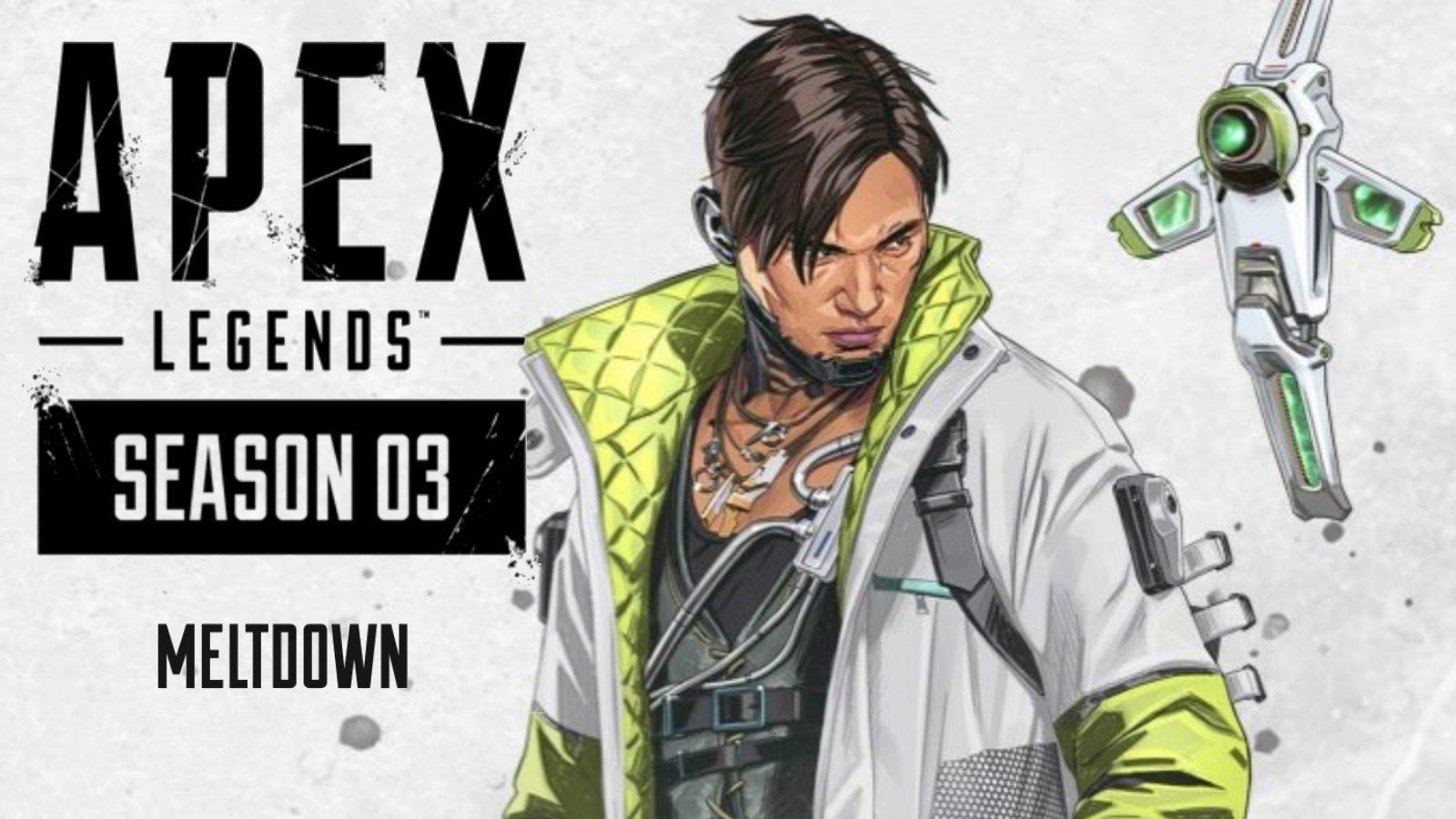 Představena 3. Sezóna Apex Legends