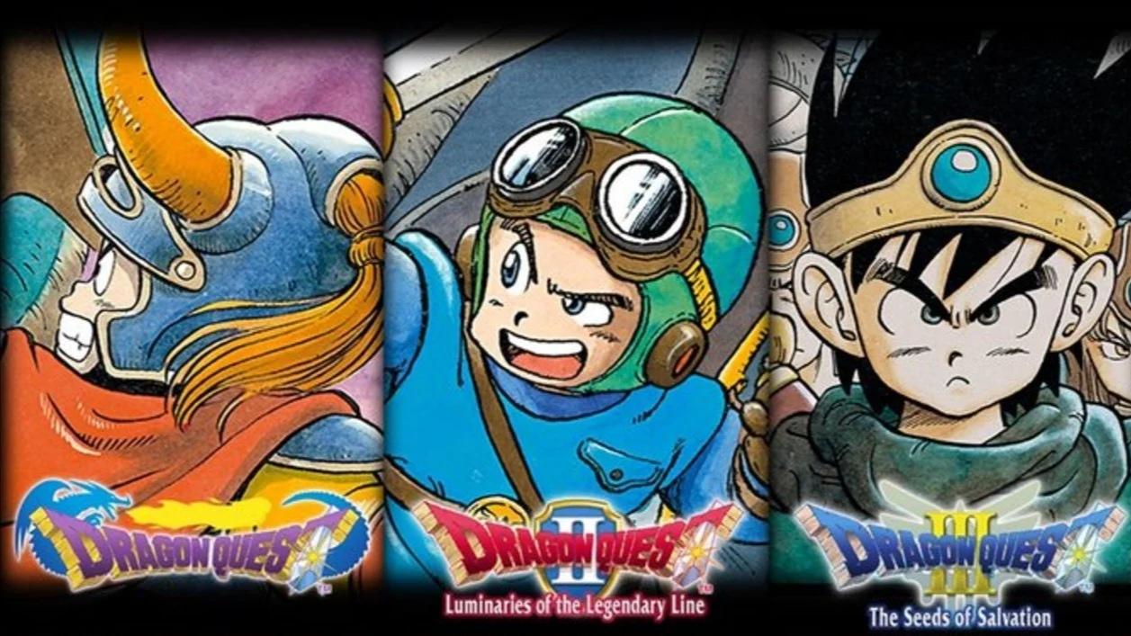 Oznámeny hry Dragon Quest I – III pro Nintendo Switch