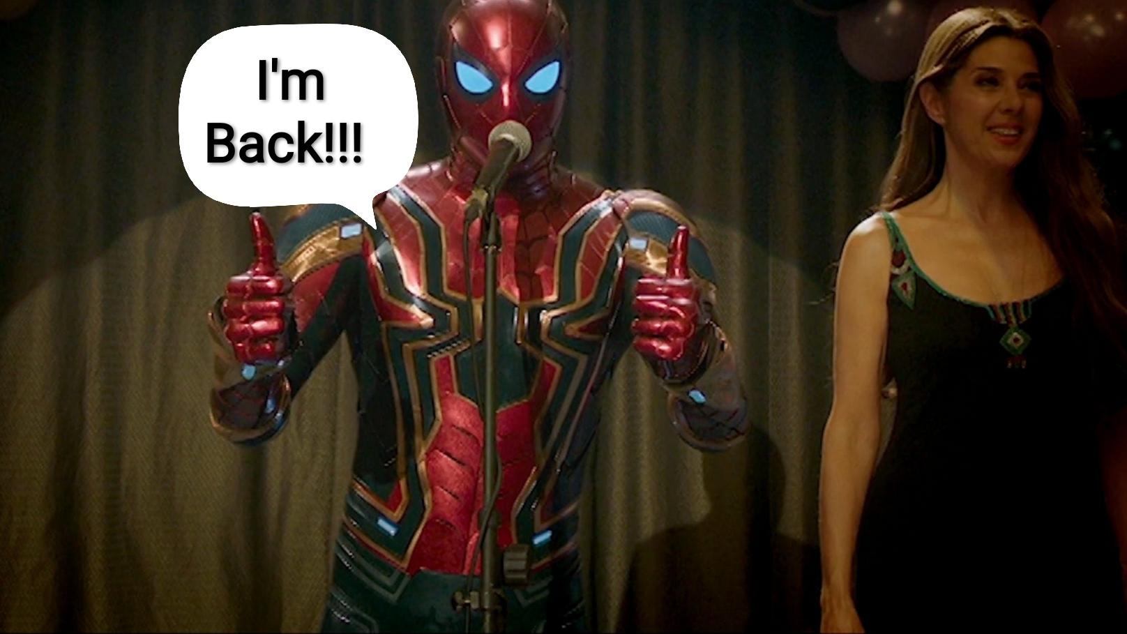 Spider-man se na chvíli vrací k MCU