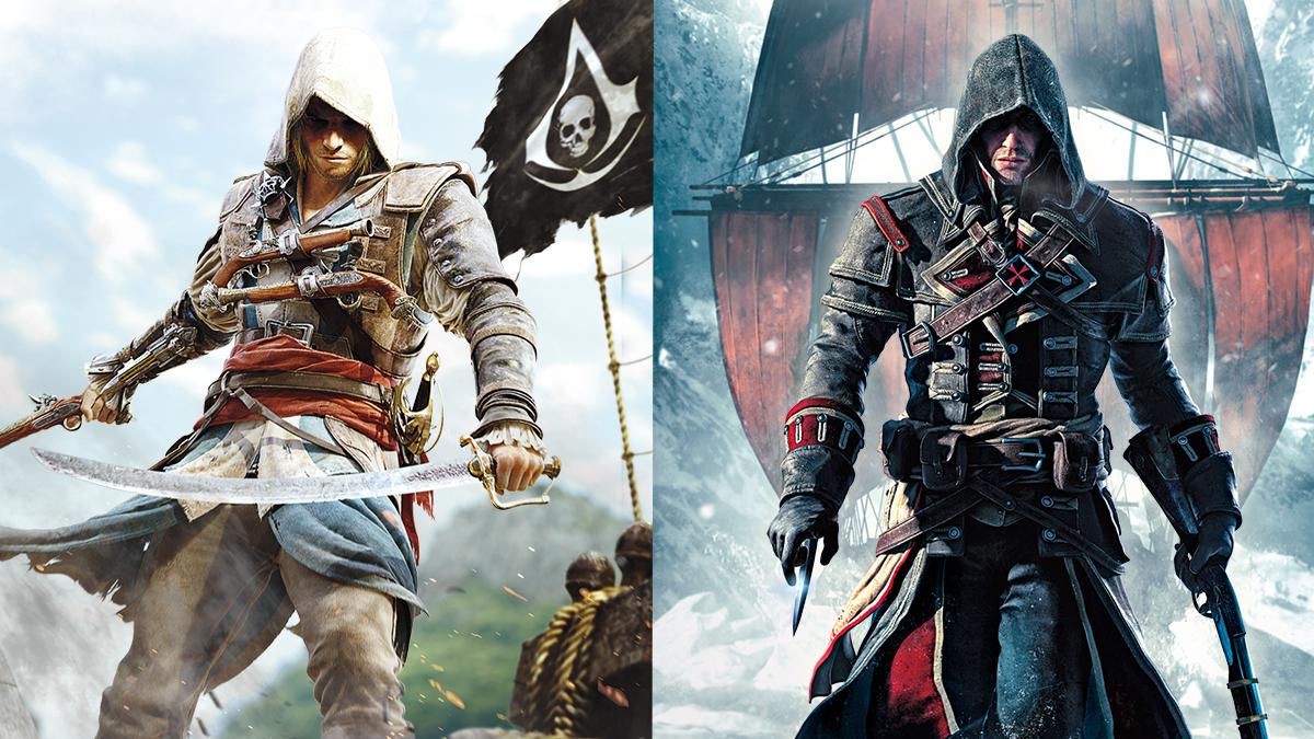 Oznámena Assassins Creed Rebel Collection pro Switch