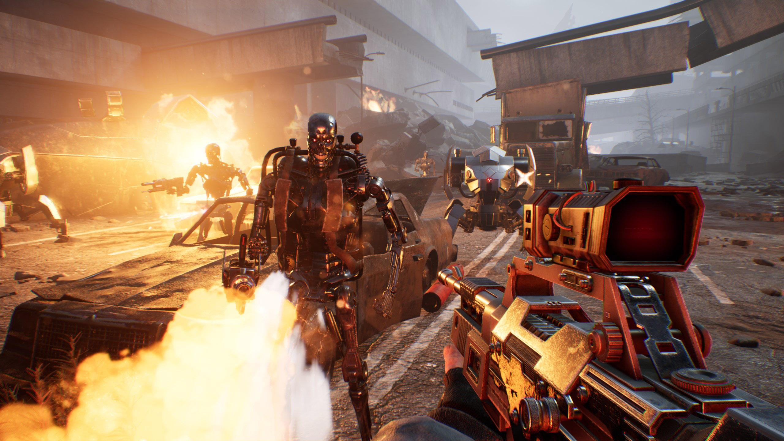 Oznámena akční hra Terminator Resistance