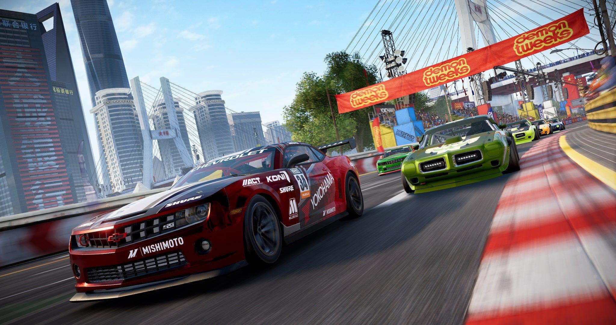 Za předobjednávky závodní hry GRID získáte plakát + oficiální popisek hry