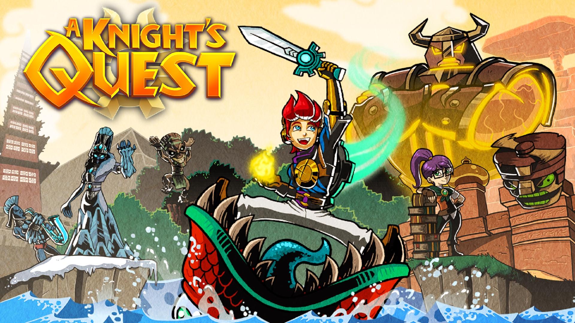Akční adventura A Knight's Quest má datum vydání