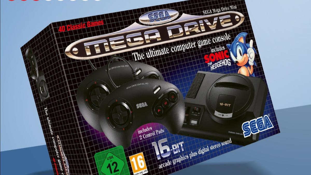Retro konzole SEGA Mega Drive Mini je v prodeji