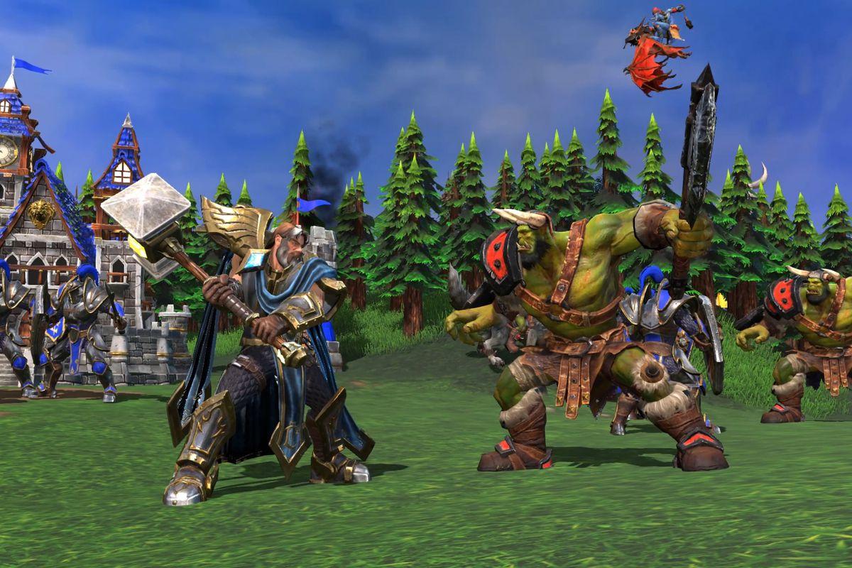 Warcraft III Reforged porovnán s originálem