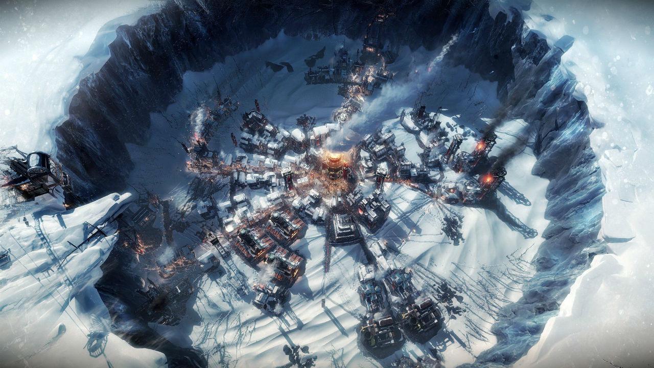 Mrazivá survival strategie FrostPunk pro konzole dnes v prodeji