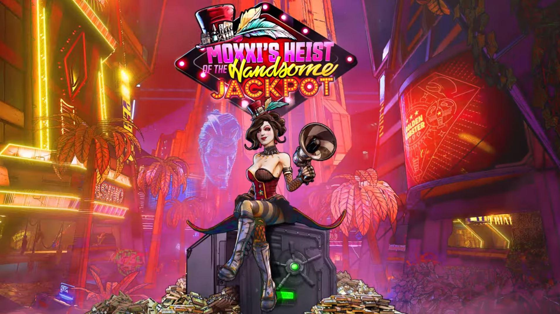 Představeno první DLC pro Borderlands 3 s názvem Moxxi's Heist of Handsome Jackpot