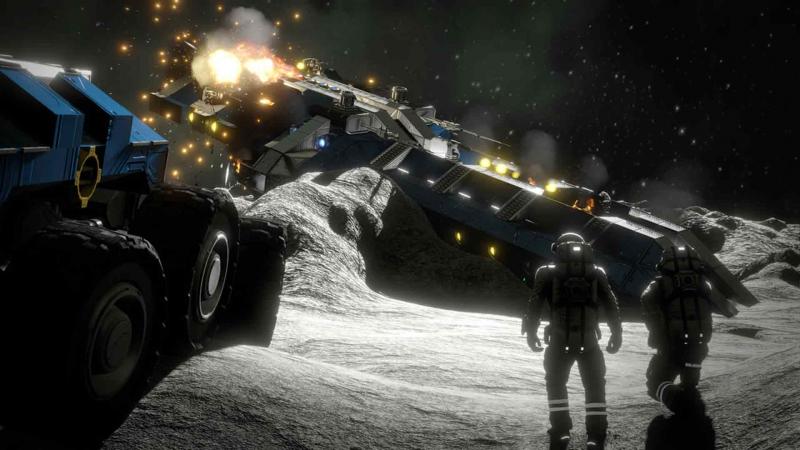 Space Engineers v prvních záběrech z Xbox One verze