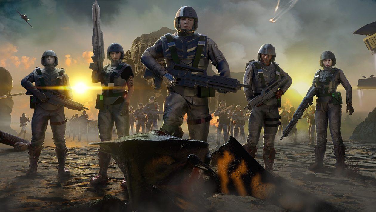 Oznámena strategie Starship Troopers: Terran Command
