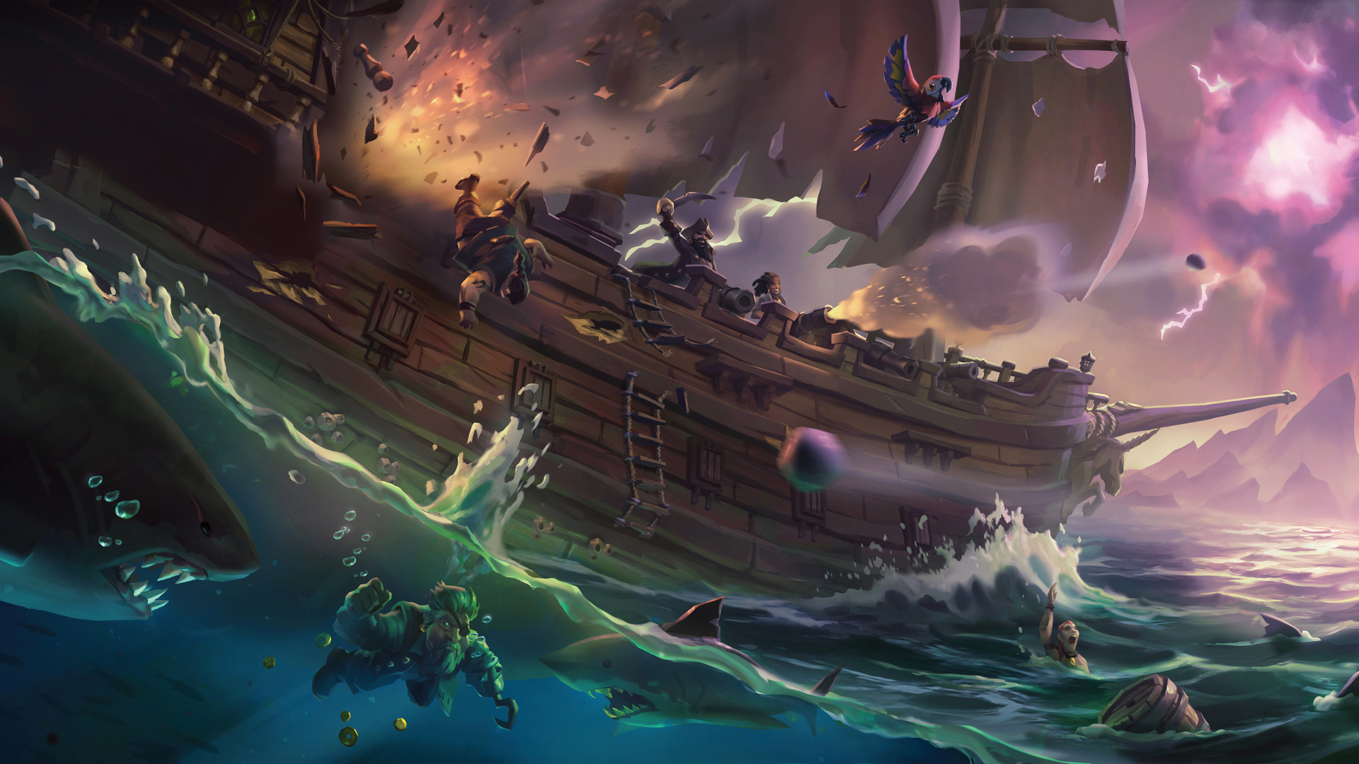 Sea of Thieves dostalo další velký update s názvem Legends of the Sea