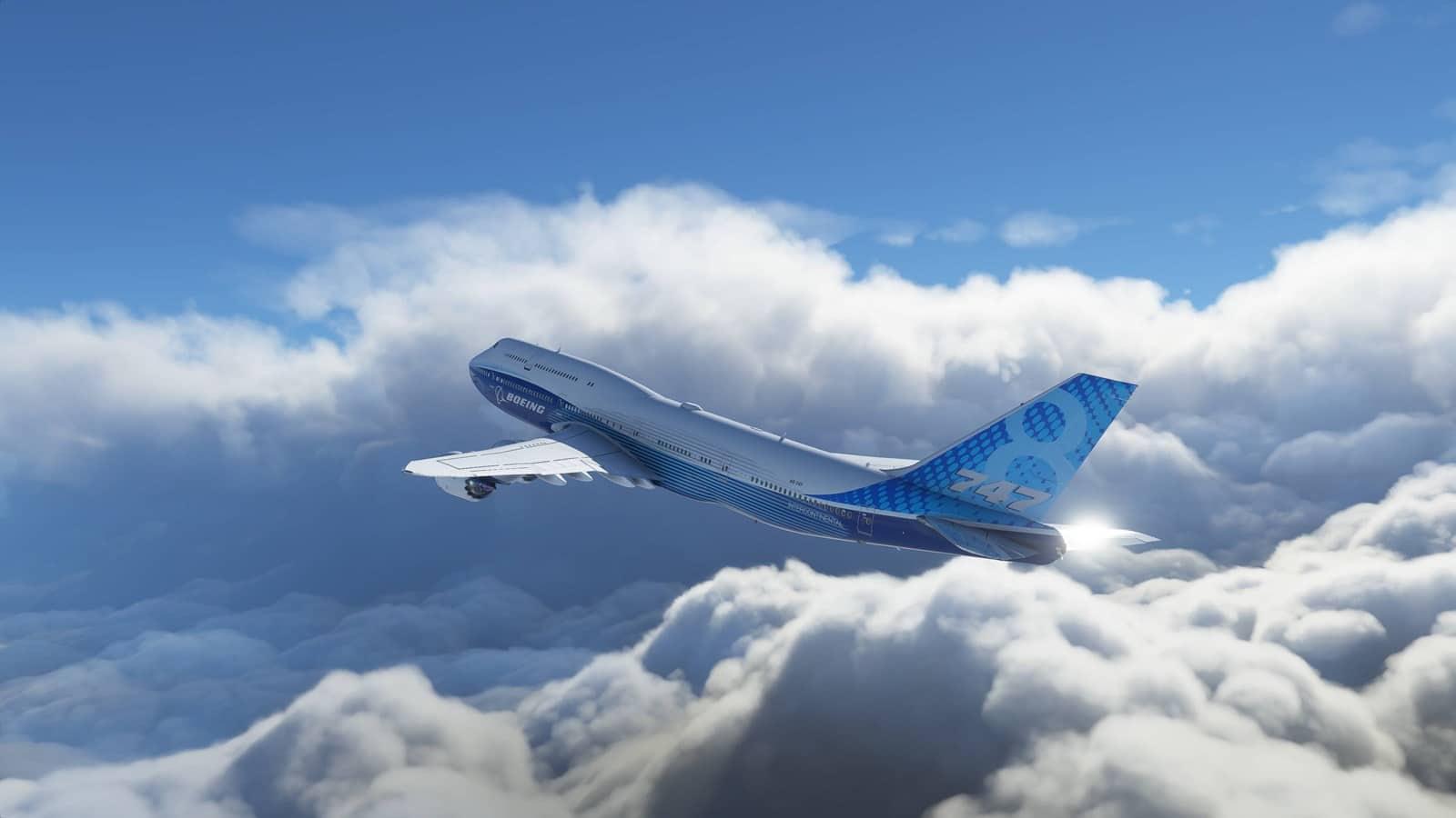 Microsoft Flight Simulator demonstruje sníh v novém videu
