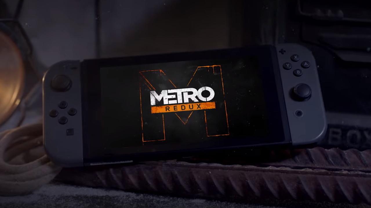 Metro Redux na Switch s českými titulky + informace o chodu