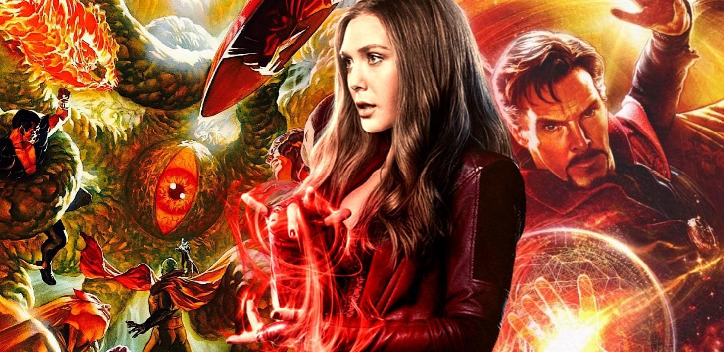 Film Doctor Strange in The Multiverse of Madness je bez režiséra