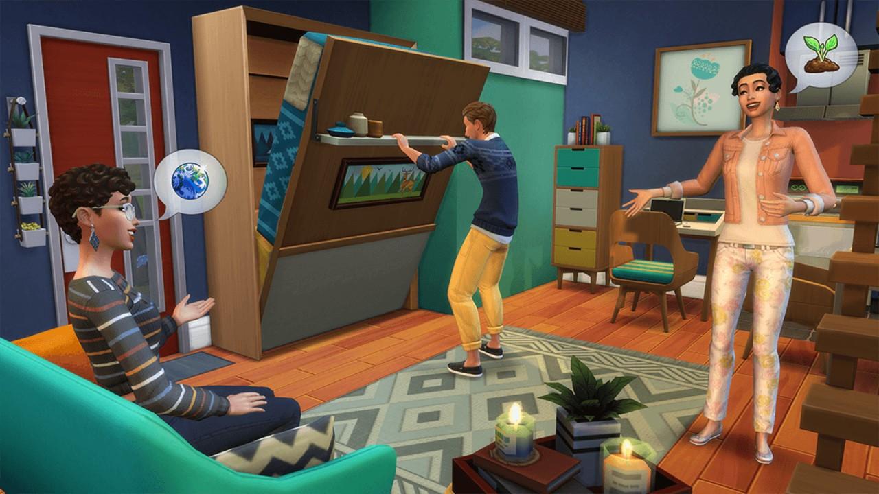 Oznámena nová Kolekce Tiny Living pro The Sims 4