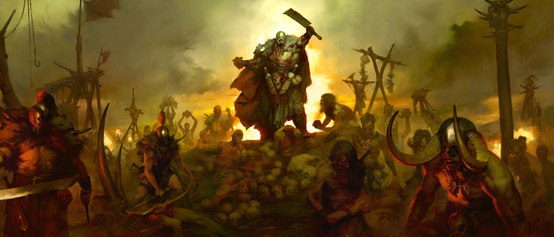 Nový trailer na Diablo IV ukazuje frakci kanibalů