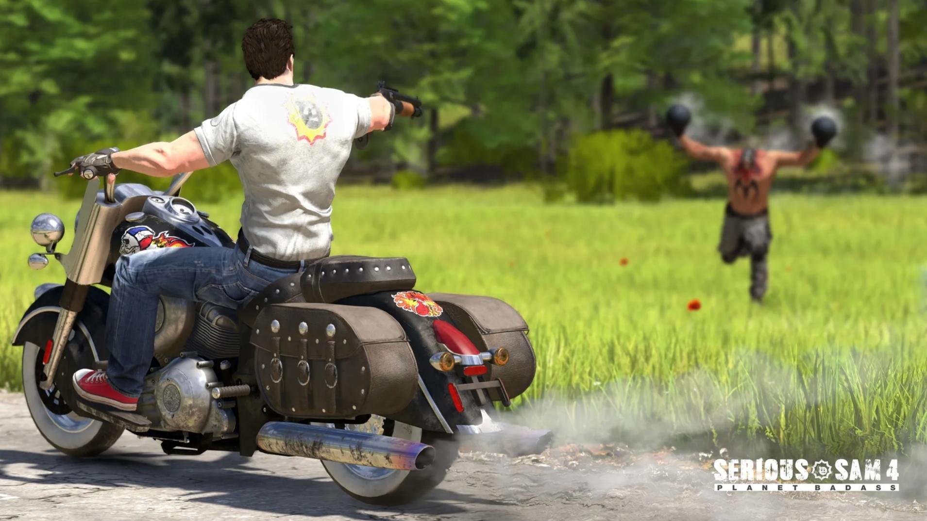 Devolver Digital leaknuli na Twitteru gameplay ze Serious Sam 4