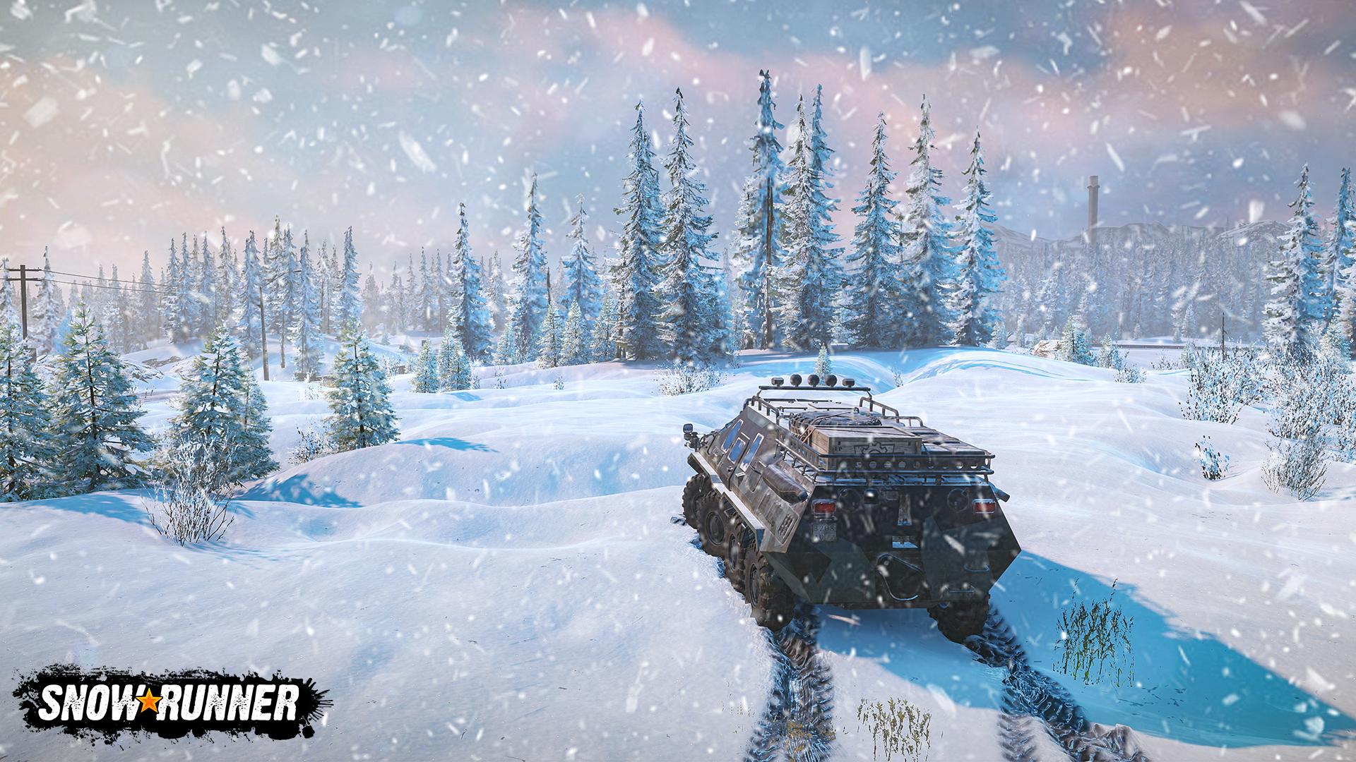 SnowRunner ukazuje své silné stránky v novém traileru