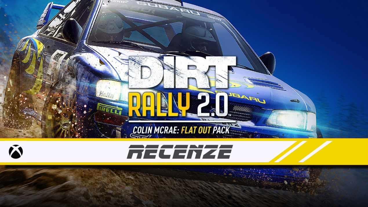 DiRT Rally 2.0: Colin McRae Flat Out – Recenze