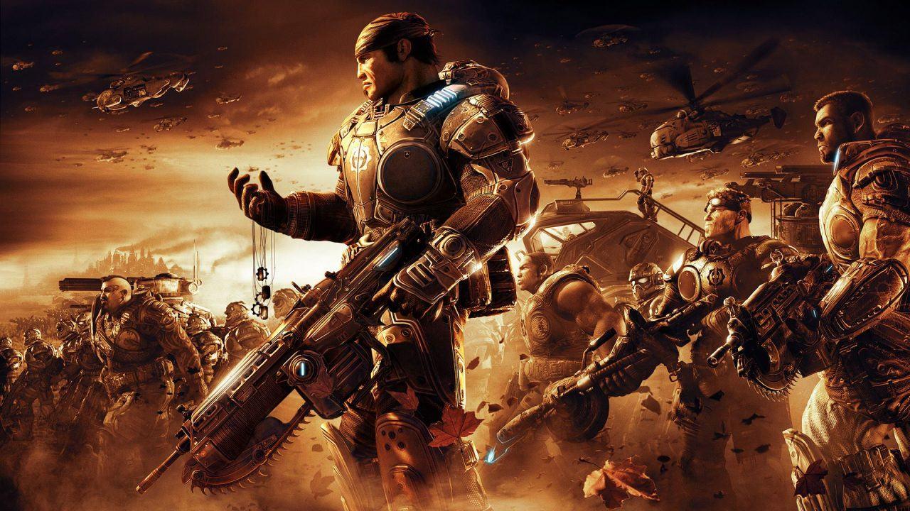 Oznámena karetní hra Gears of War: The Card Game