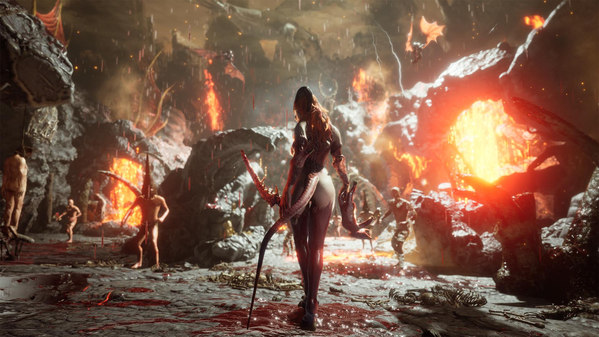 Hra z pekel Succubus se ukazuje v 11 minutách ze hry