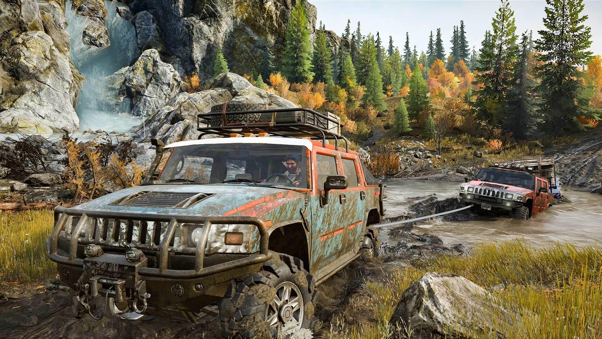 SnowRunner na všech platformách v češtině + multiplayerový trailer