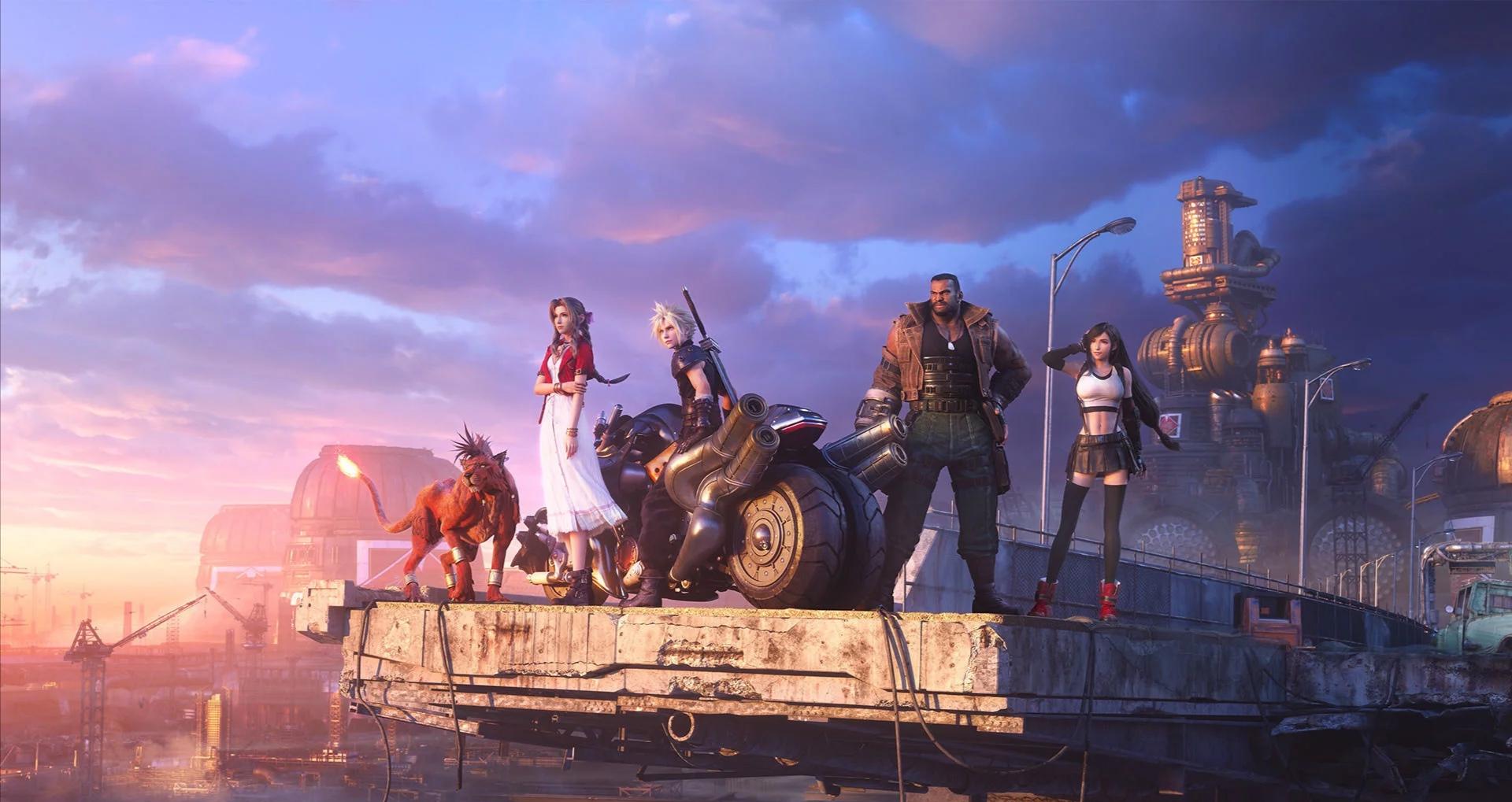 Final Fantasy VII Remake se připomíná launch trailerem