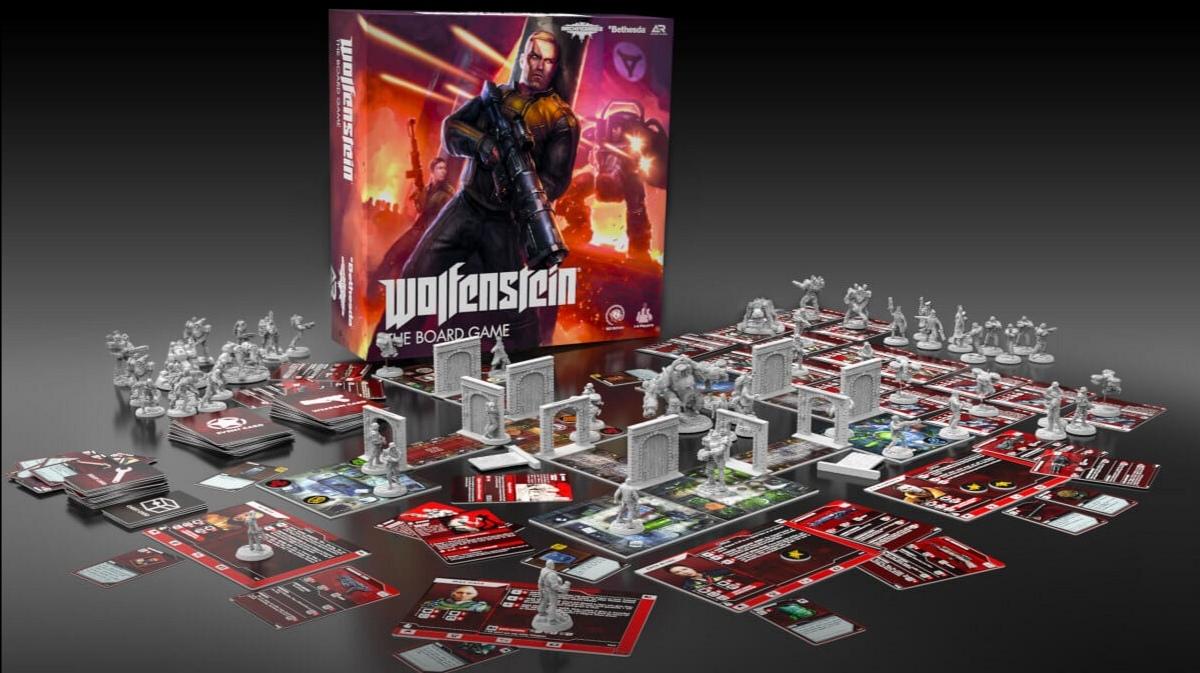 Na Kickstarteru je desková hra Wolfenstein:  The Board Game, její úspěch je více než jistý