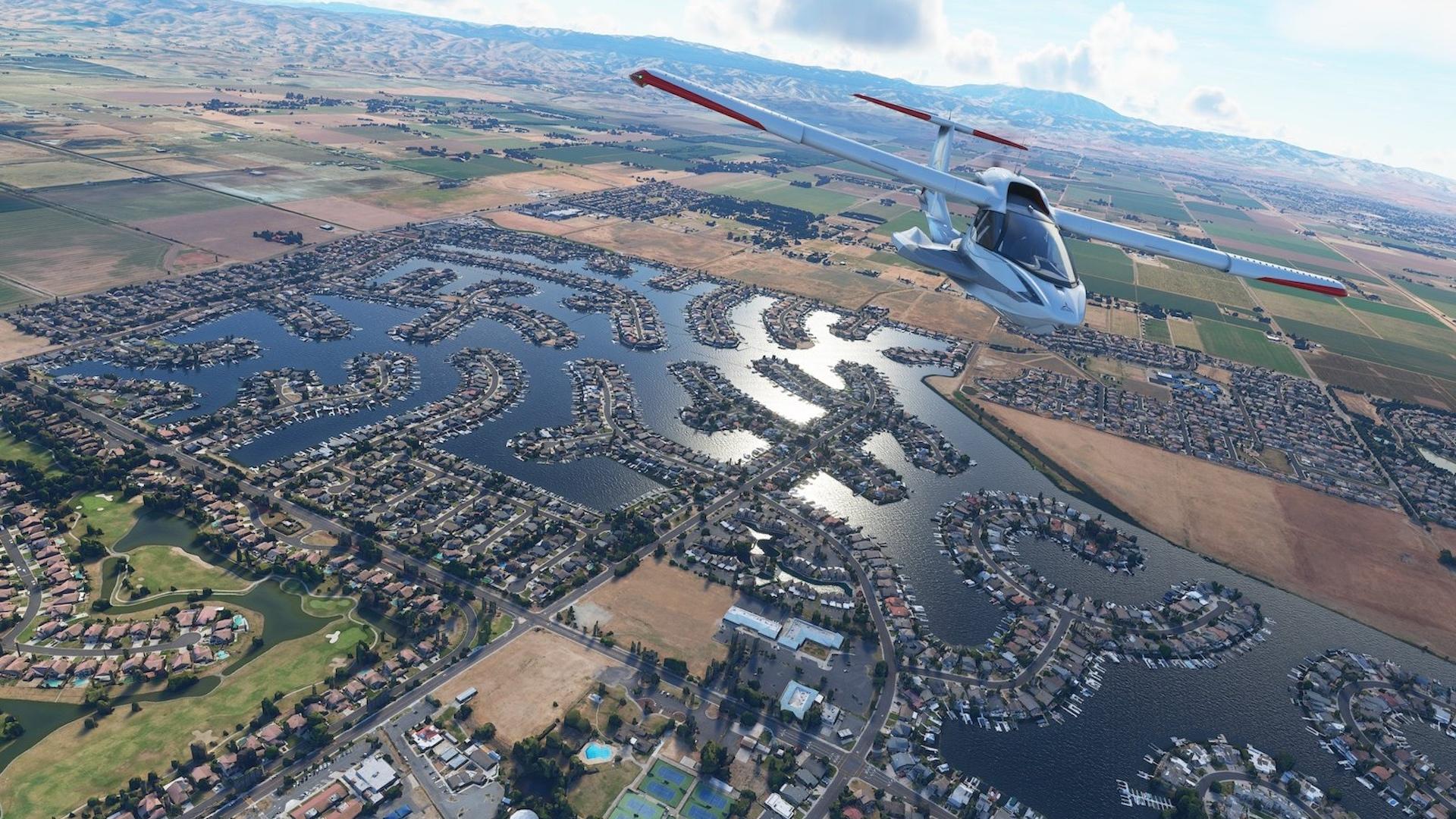Microsoft Flight Simulator si užijí jak veteráni, tak úplní nováčci + ukázka z alfaverze