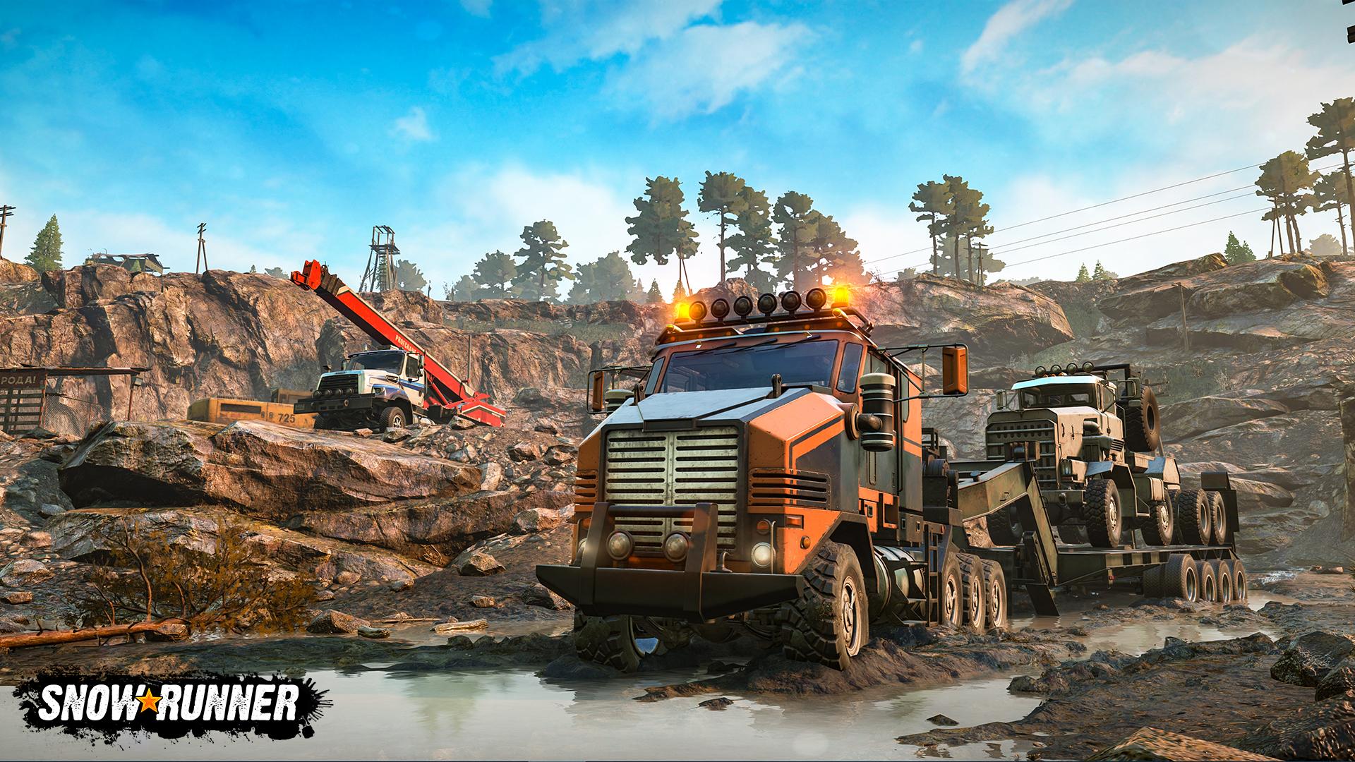 SnowRunner vyjde s českými titulky na PS4 a PC, Xbox One bude potvrzen po vydání