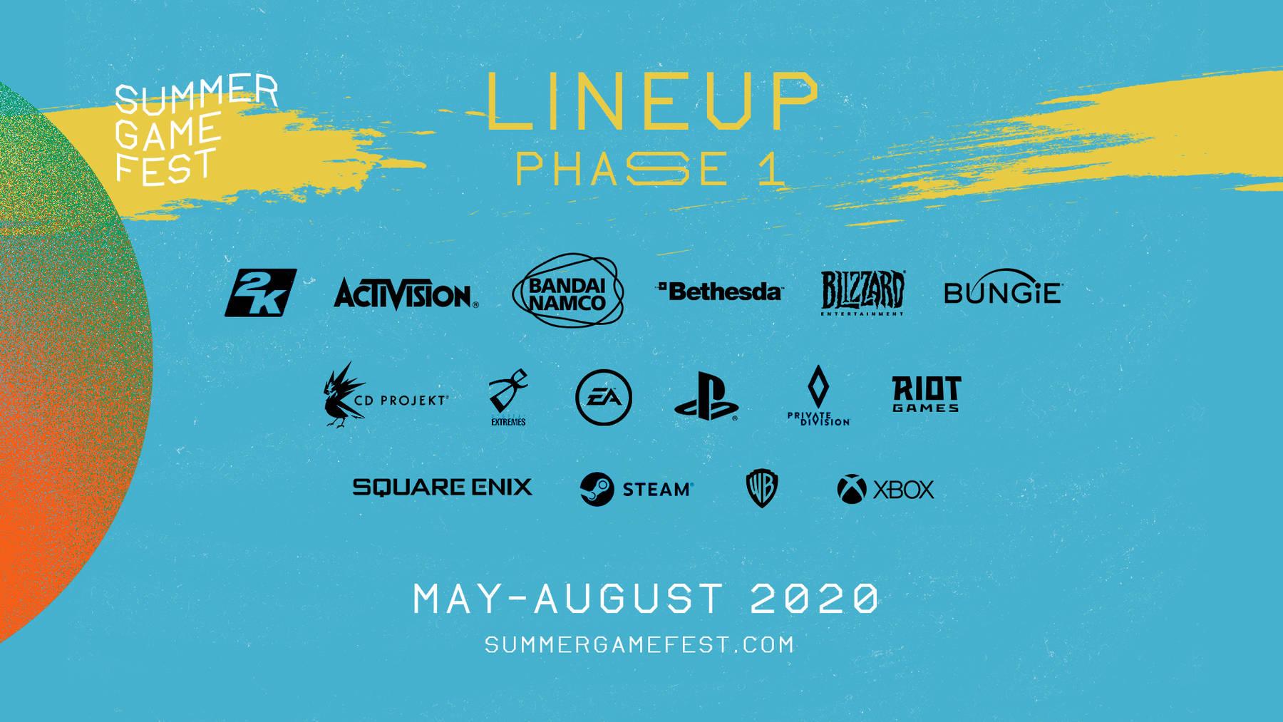Oznámen Summer Games Fest 2020 jako oslava her v letošním roce
