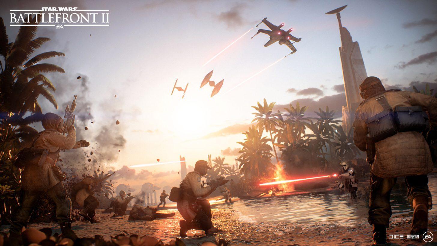 Star Wars: Battlefront II dostalo poslední rozšíření The Battle on Scarif
