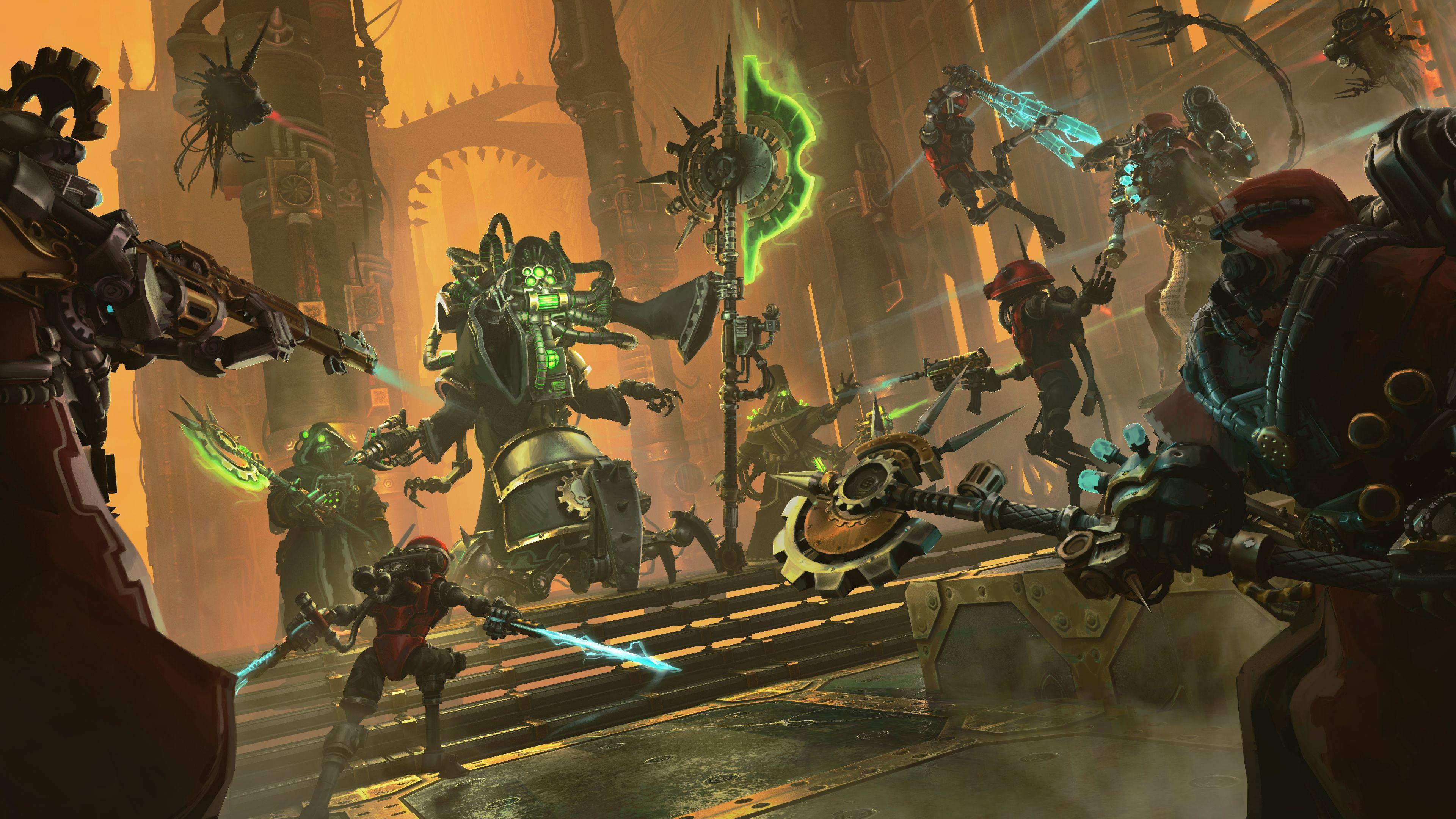 Tahová strategická hra Warhammer 40.000: Mechanicus vyjde na konzole v červenci